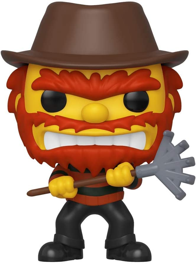Amazon Com Funko Pop Animation Simpsons Evil Groundskeeper Willie Fall Convention Exclusive Toys Games