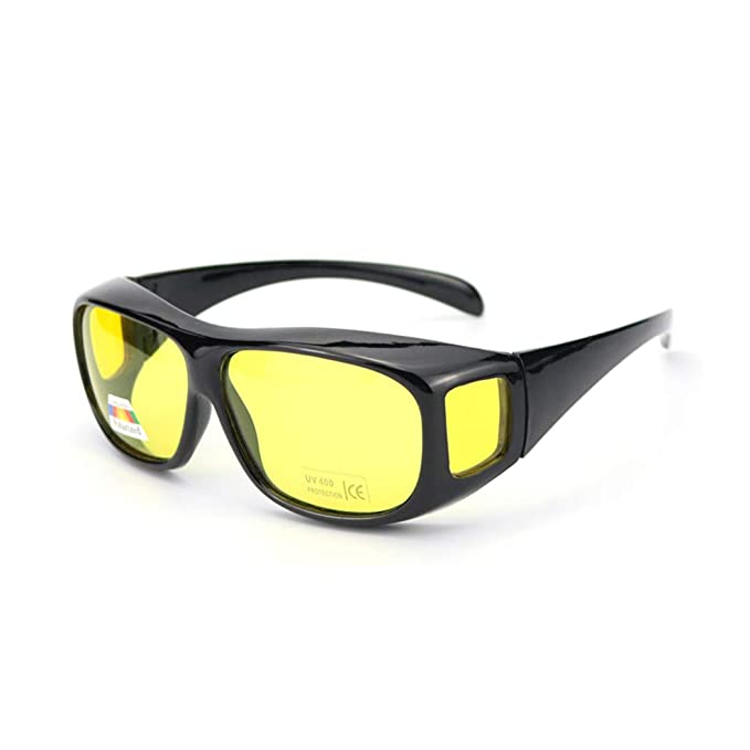 818d730b07732 Armear Armear Safety Night Vision Glasses Fit Over Prescription Glasses  Wrap Around Polarized Sunglasses Driving Glasses