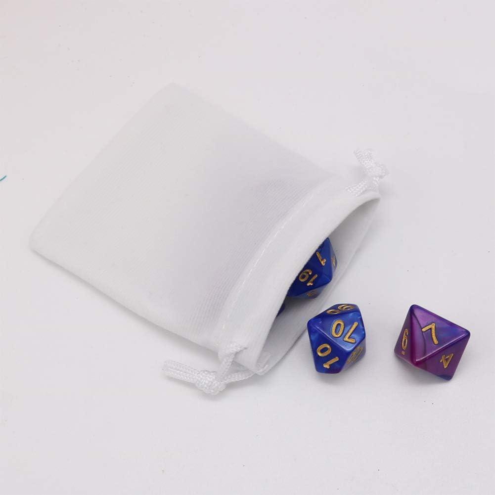 20/sacs /à cordon en velours pour bijoux petit format cadeaux emballage