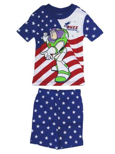Buzz Lightyear Pajamas (Size 2) - Toy Story (Toy Story Pajama Adult)