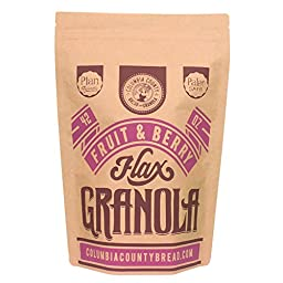 Bulk 42oz Fruit & Berry Flax-granola (Plan Friendly) by Columbia County Bread & Granola