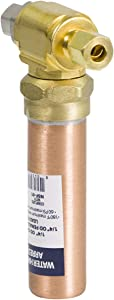 SUPPLY GIANT IS-BB-5IDPNQ Lead Free Water Arrestor Tee, AA 3/8 in. OD COMP x 3/8 in. OD Femail Compression, Brass