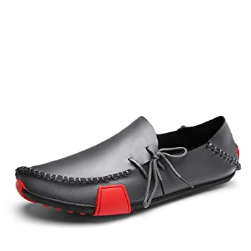 Boot Loafer On Für Slip Leder Mokassins Style Driving Ox Männer O8PXnkN0w