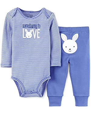 Just One You Baby Boys' Easter Bunny Two-Pc Outfit