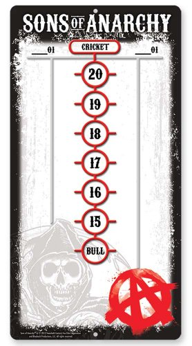 Sons of Anarchy Dry Erase Scoreboard