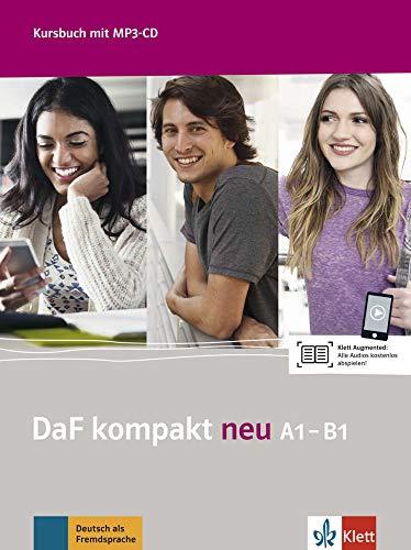DaF Kompakt neu: Kursbuch A1-B1 + MP3-CD