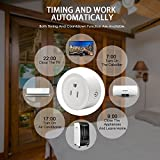 Avatar Controls WiFi Smart Plug, Wireless Wifi Outlet Electrical Socket Work with Alexa/Google Assistant, Remote Control Timing Function On/Off Switch for Household Electrical Appliances (2-Pack)