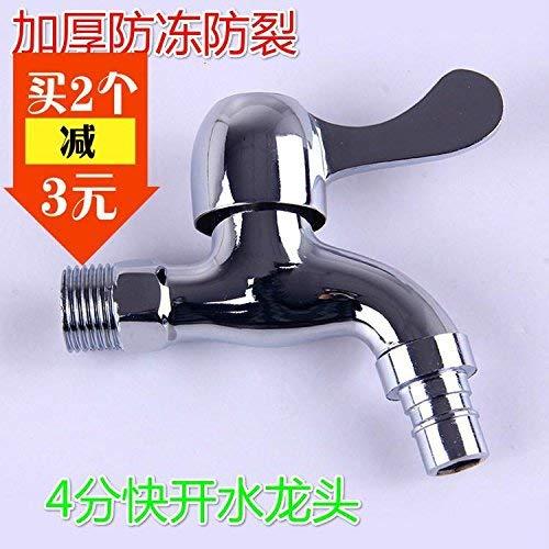 JingJingnet タップキッチンタップ洗面台の蛇口冷たいとお湯ミキサーバスルームミキサー洗面器ミキサータップクイックオープン亜鉛合金銅キッチンや浴室のタップ (Color : Specialty) B07SDMZ7P4 Specialty