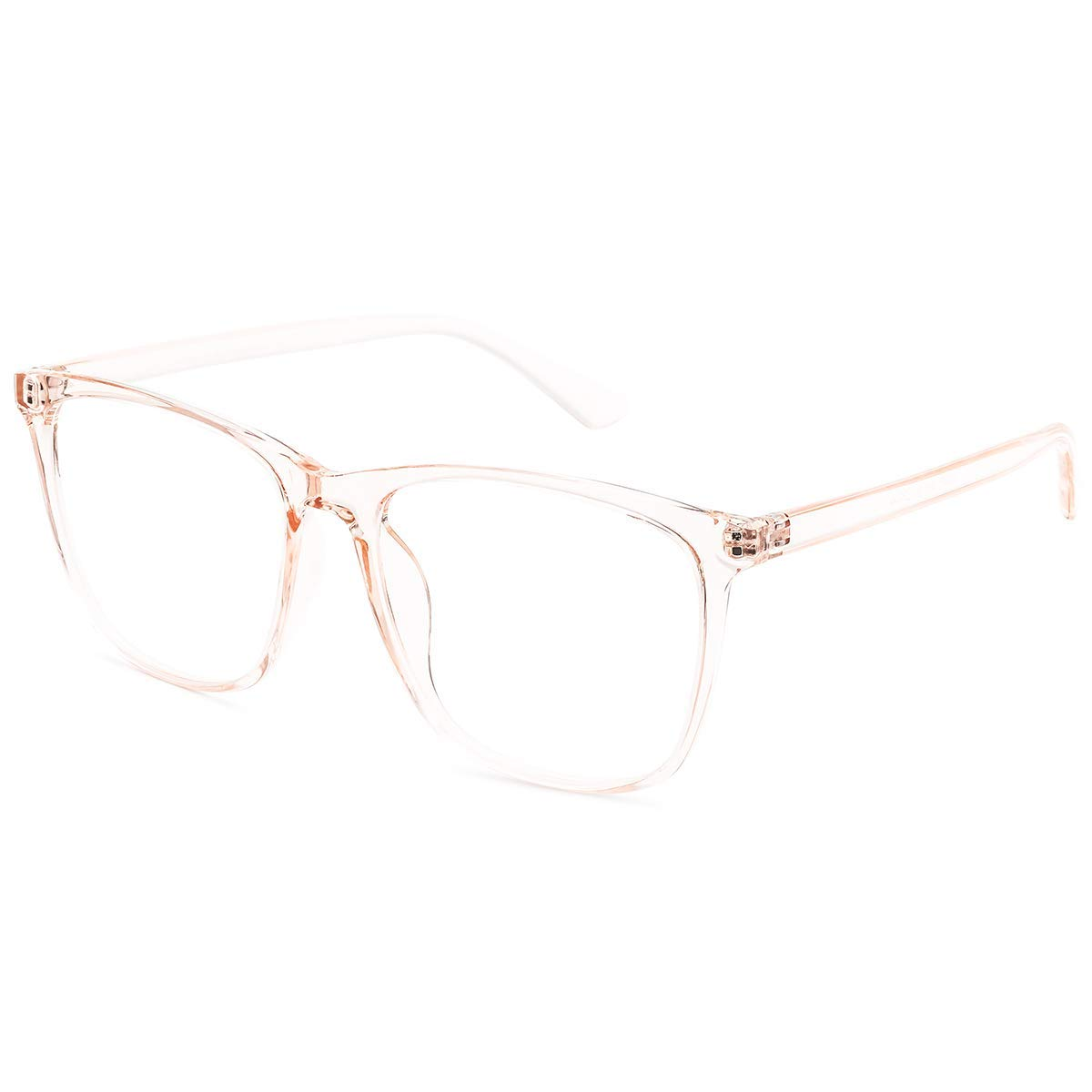 H.Yue Blue Light Blocking Glasses for Computer Use, Anti Eyestrain UV Filter Lens Lightweight Frame Eyeglasses