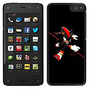 """For Amazon Fire Phone 4.7 , S-type Red Hedgehog"""" - Arte & diseño plástico duro Fundas Cover Cubre Hard Case Cover"""