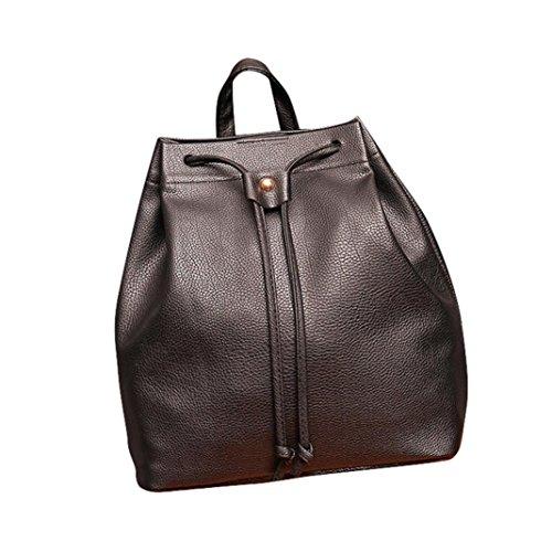 Clearance!Nevera Women Backpack School Bag Fashion DrawstringTravel Satchel Backpack Bucket Bag - Brands Expensive Womens
