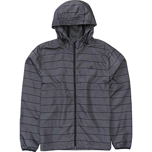 Billabong Big Boys' Transport Windbreaker, Dark Grey, S (Billabong Kids Jacket)