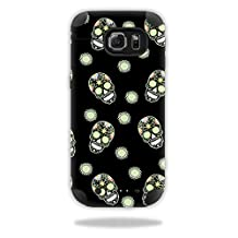Skin For Mophie Juice Pack Samsung Galaxy S6 Edge – Nighttime Skulls | MightySkins Protective, Durable, and Unique Vinyl Decal wrap cover | Easy To Apply, Remove, and Change Styles | Made in the USA