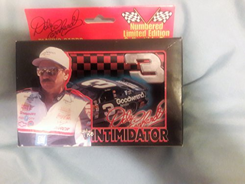 Dale Earnhardt Sr. #3 Nascar 2 Decks of Playing Cards in Tin Box - Dale Earnhardt Ornaments Jr