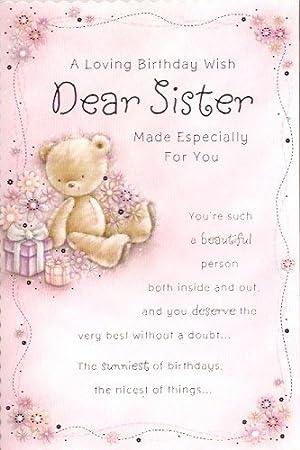 Feliz Cumpleanos Hermana Un Loving Cumpleanos Deseos Querida Hermana