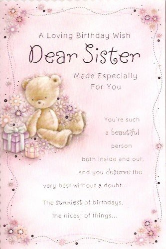 Feliz cumpleaños hermana un Loving cumpleaños deseos querida ...