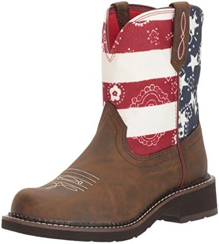 ARIAT WOMEN Fatbaby Saddle Western Cowboy Boot