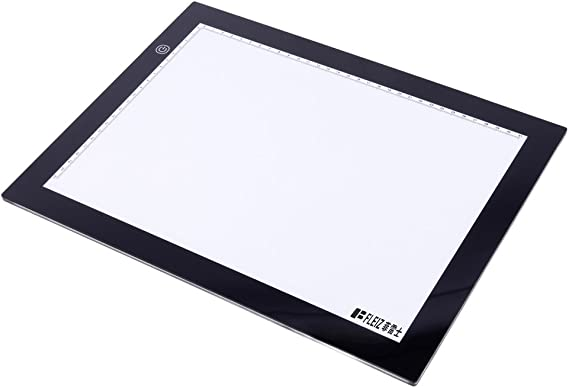 TISHITA ポータブル省エネLED A4B描画ステンシルボード有線グラフィックタブレット