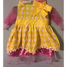 Lalaloopsy Crumbs Sugar Cookie Dress up Costume Size 2-4t (2+ Years)