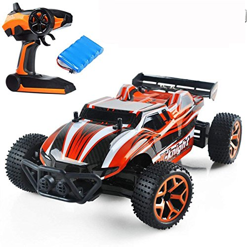 Remote Control Car High Speed Electric RC Cars for Kids Adults, 1/18 Scale Rc Trucks 4WD Off road Racing Vehicle, 2.4Ghz Radio Remote Control Car