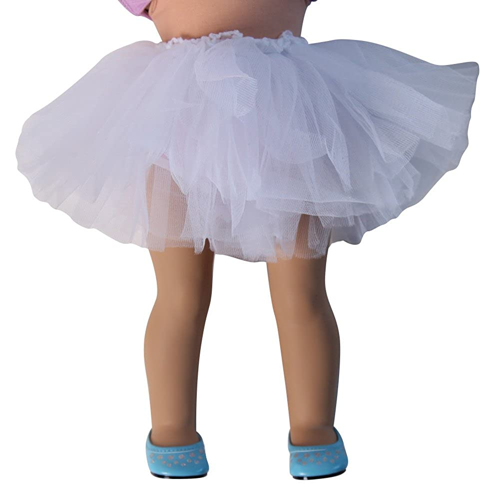 Chiffon Tutu 3 Pack for 18 Popular Dolls DOLL NOT INCLUDED Making Believe 68104