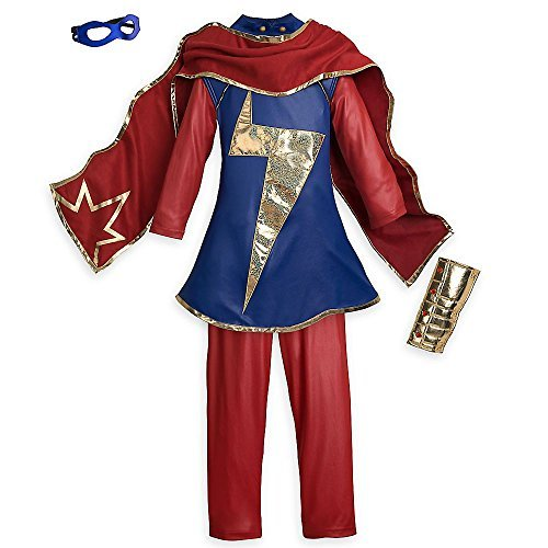 Marvel Ms Costume for Kids Lands at The Disney Store Size 7-8 Years