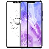 Newlike Huawei Nova 3i 5D Tempered, Newlike Full Edge to Edge Coverage Tempered Glass for Huawei Nova 3i - Black