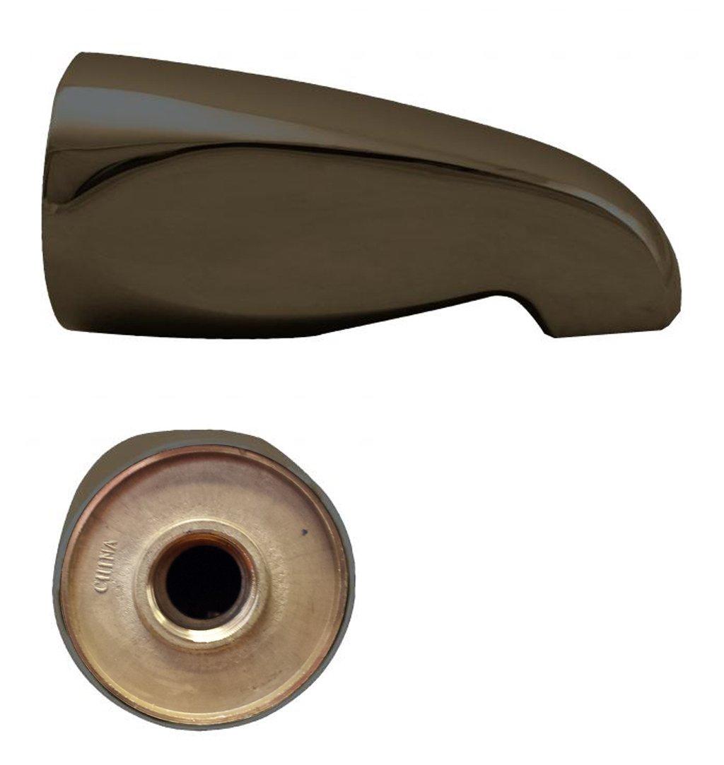 Wesrbrass Standard 5-1/2' Bass Tub Spout, Oil Rubbed Bronze, D310-12