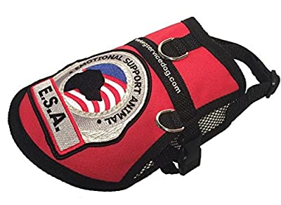 Premium Emotional Support Dog ESA Mesh Vest (XXS - XXL)