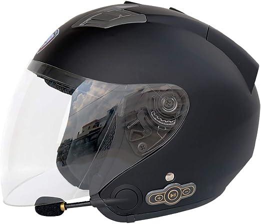 MTTKTTBD Modular Motorcycle Bluetooth Helmet Adult Motocross Helmets with Anti-fog Dual Visor,Flip Up Full Face Motorbike Helmet Built-in Microphone for Automatic Answering,DOT Approved