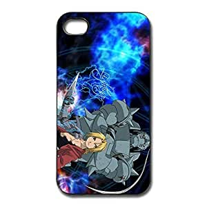 Fullmetal Alchemist Edward Elric Scratch Case Cover For IPhone 4/4s - Emotion Cover by ruishername