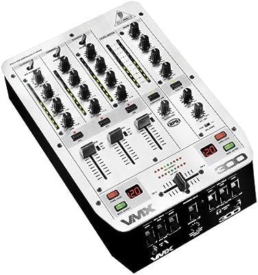 Behringer VMX300 - Mesa de mezclas (3 canales): Amazon.es ...