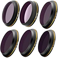 PGYTECH Inspire 2 X4S Gimbal Camera MCUV/ND4/ND8/ND16/ND32/CPL Gold-edge filter Lens UAV Quadcopter drone parts accessories