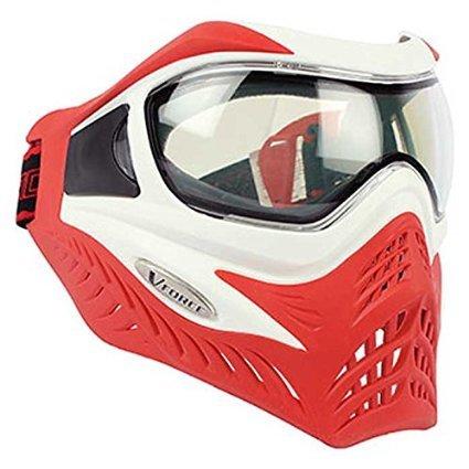 - GI Sportz V-FORCE Grill Paintball Mask/Goggle - SE - White on Red