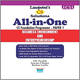 Buy Lawpoint's All in One - CS Foundation (4 Papers) Book
