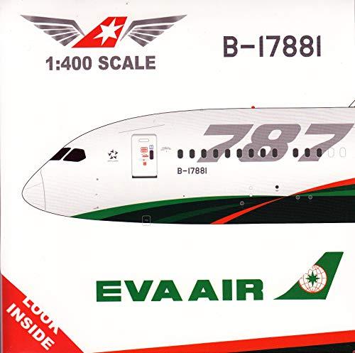 - JC Wings JCW7881 1:400 Eva Air Boeing 787-9 Reg #B-17881 (pre-Painted/pre-Built)