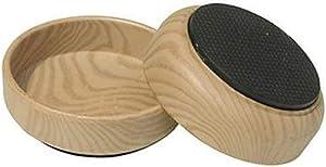 Shepherd Hardware 9057 1-3/4-Inch Non Slip Caster Cups, TPR Base, 4-Pack