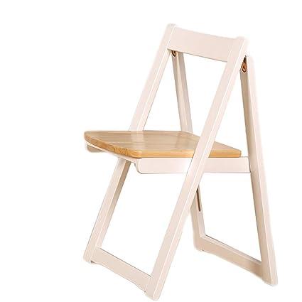 Silla Plegable de Madera para sillas de Comedor Silla de ...