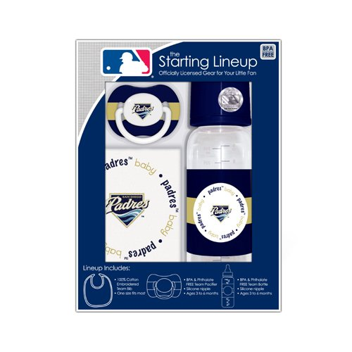 MLB San Diego Padres Gift Set (San Diego Padres 3 Piece)