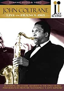 Jazz Icons - John Coltrane: Live in France 1965