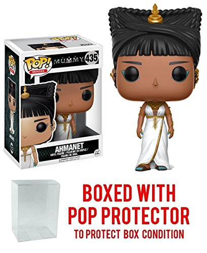 - Funko Pop! Movies: The Mummy - AHMANET - Collectible Vinyl Figure (Bundled with Pop BOX PROTECTOR CASE)