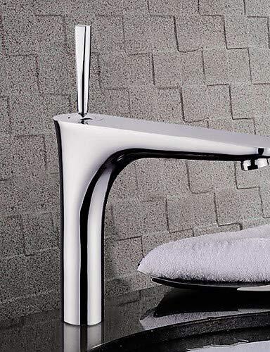 Mainstream home LPZSQ Tap Bathroom Sink Faucets Contemporary Brass Chrome  801