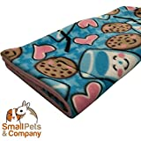 Small Pets and Company Guinea Pig Fleece Cage Liner for Midwest Habitat | Fleece Guinea Pig Bedding (Midwest, Rainbows)