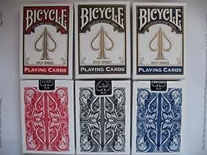 David Blaine 3 DECK SET Magic Trick in Bicycle Playing Cards