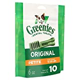 GREENIES Original Petite Dog Dental Chews - 6 Ounc...