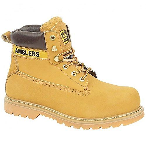 Amblers Steel FS7 Steel Toe Cap Boot / Mens Boots (9 US) (Honey) ETdLUqASSr