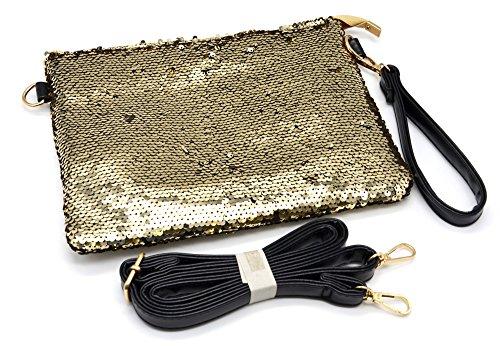 Oh Donna Oro My Shop Unique Giorno Poschette Taille HrHBwZ