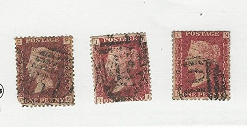 Great Britain, Postage Stamp, 33 (3 Stamps) Used, 1864