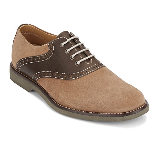 G.H. Bass & Co. Men's Parker Oxford, Taupe/Chocolate, 10.5 M ()