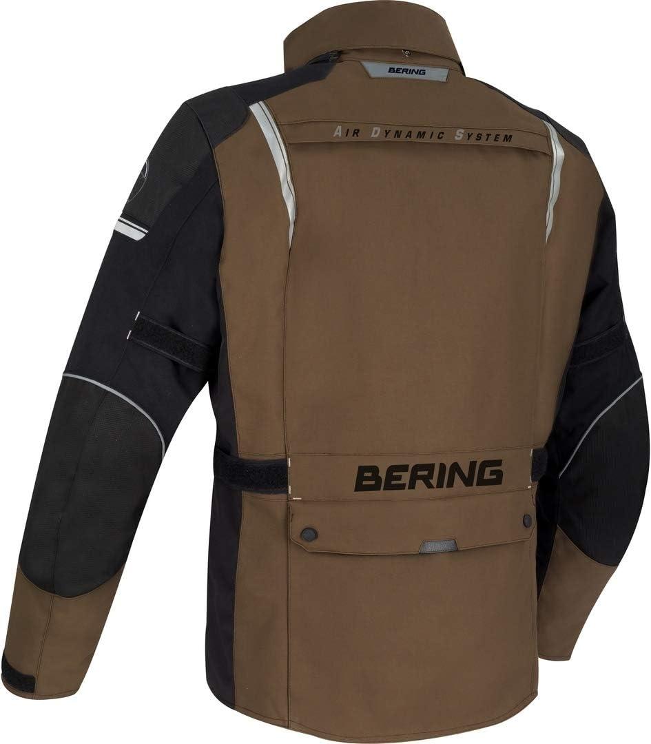 Negro Bering Chaqueta moto BRONCO Negro S